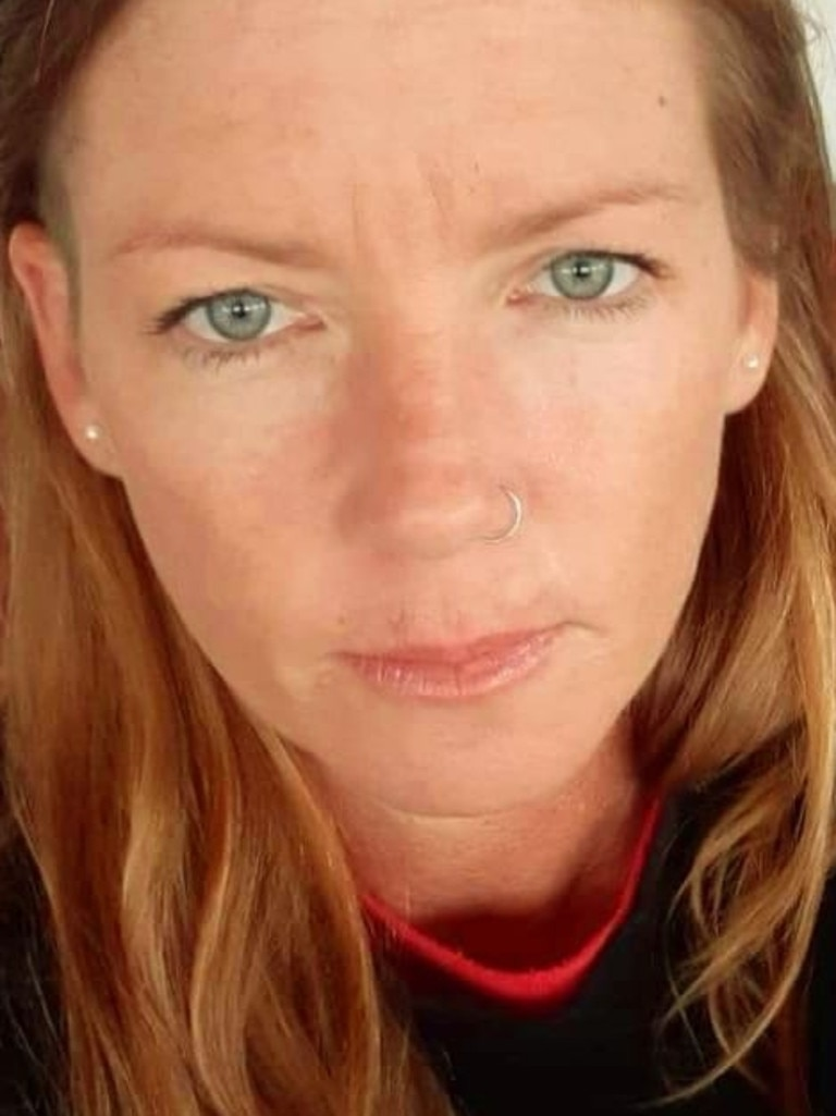 Danielle Webster, 40, was a passenger on the motorcycle. Picture: Facebook.