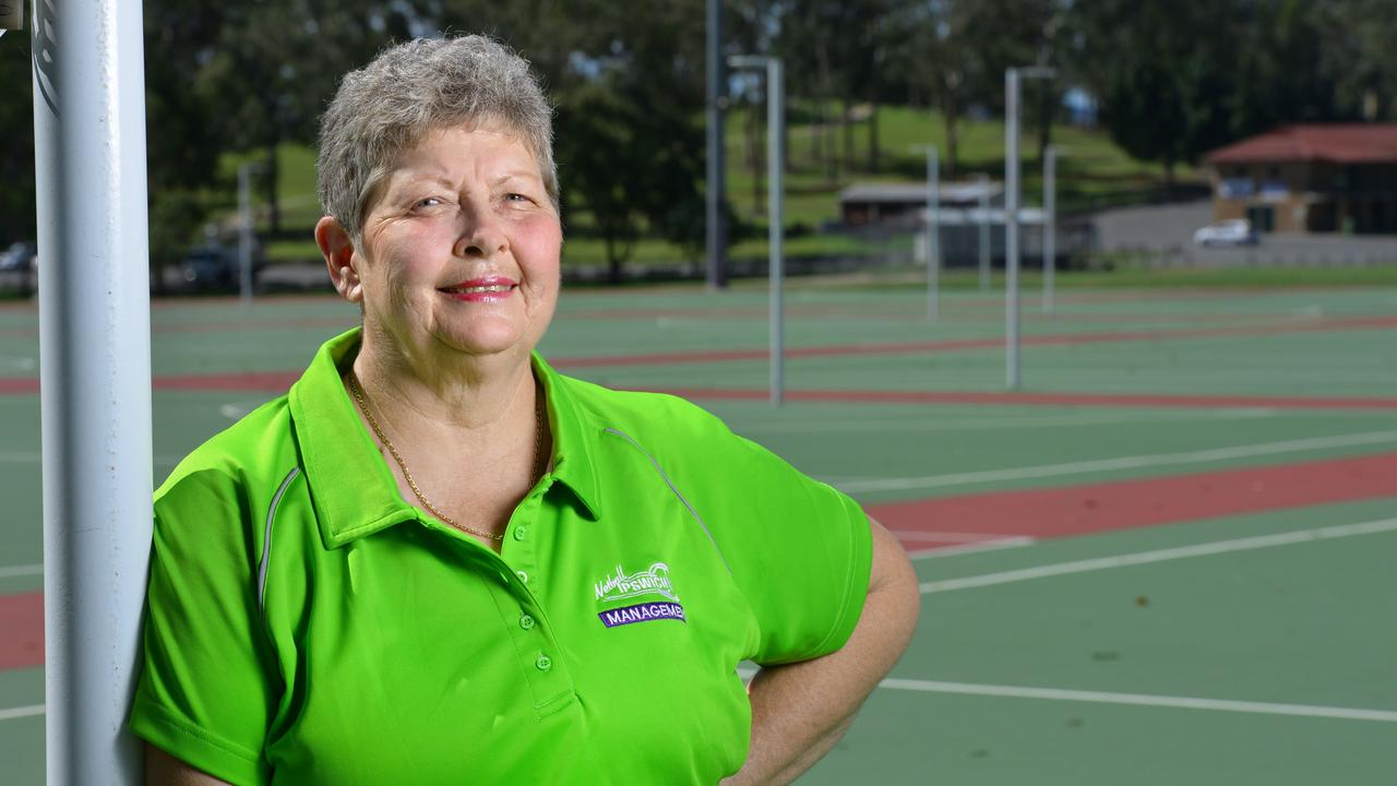 Long-serving Ipswich netball official Gail Lyne has an impressive record of achievement. Picture: David Nielsen