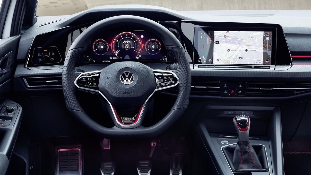 VW's classy digital cockpit and 10-inch display headline the Golf's tech upgrades
