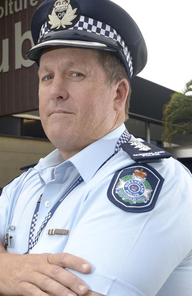 Moreton North Patrol Inspector Paul Ready. Picture: Bradley Cooper