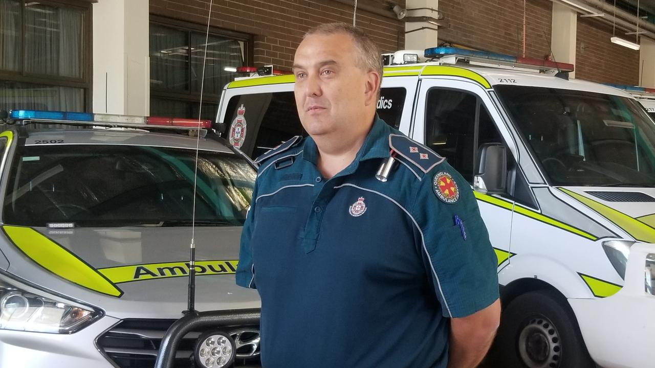 QAS Operations Supervisor Laurie Ryan.