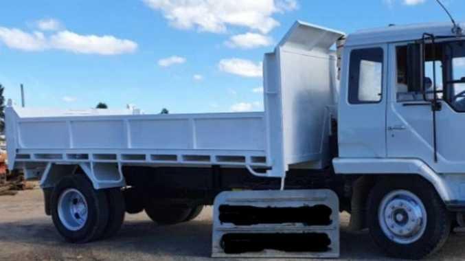 Stolen tipper truck turns up undamaged 16 days later