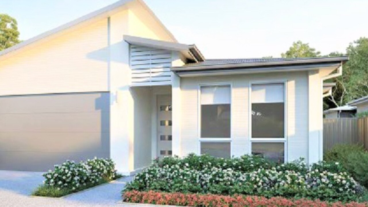 One of the proposed retirement resort homes in Cooroy.