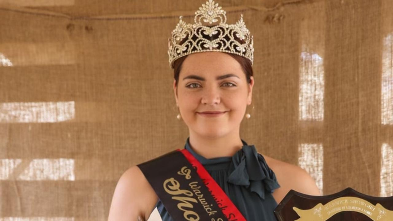 HISTORY-MAKING: Matilda Sly was crowned the 2021 Warwick Showgirl. / PHOTO: KC Boutique Photography