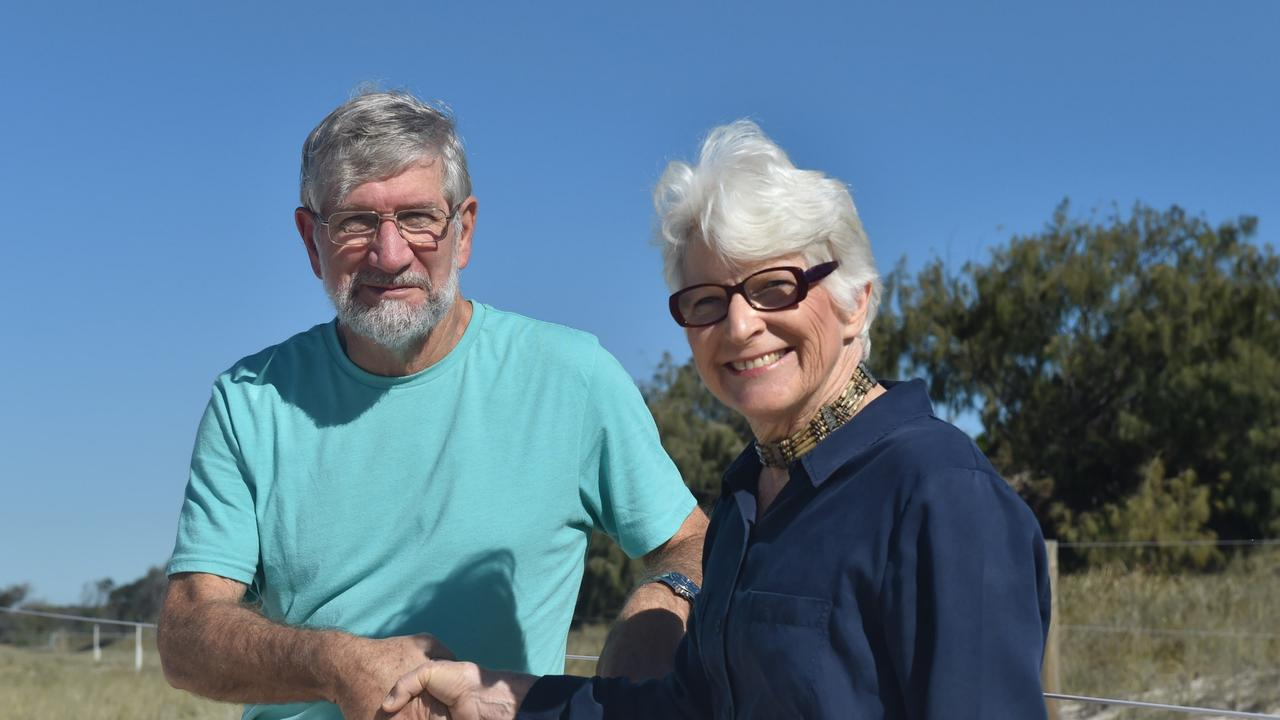 Waterways consultant Ian Bell and BIEPA president Diane Oxenford.