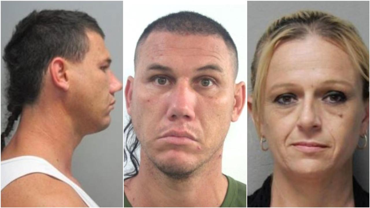 Police will continue a search in bushland at Coochin Creek for Kendall Arthur Poole, 38 and a woman of the same age who are wanted for their alleged involvement in a string of assaults. Picture: Contributed.