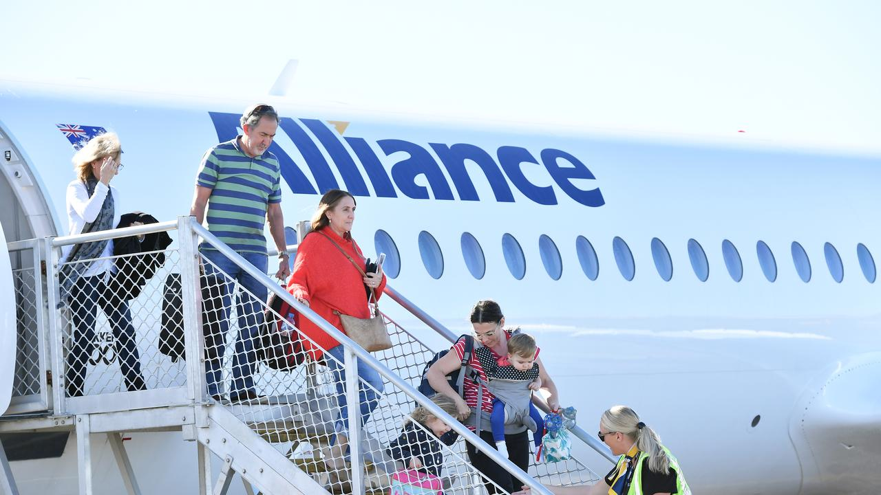 Sunshine Coast Airport has joined forces with Alliance Airlines, and Central Highlands Regional Council to offer seats between the Sunshine Coast and Emerald to the public from March 1. Photo Patrick Woods / Sunshine Coast Daily.