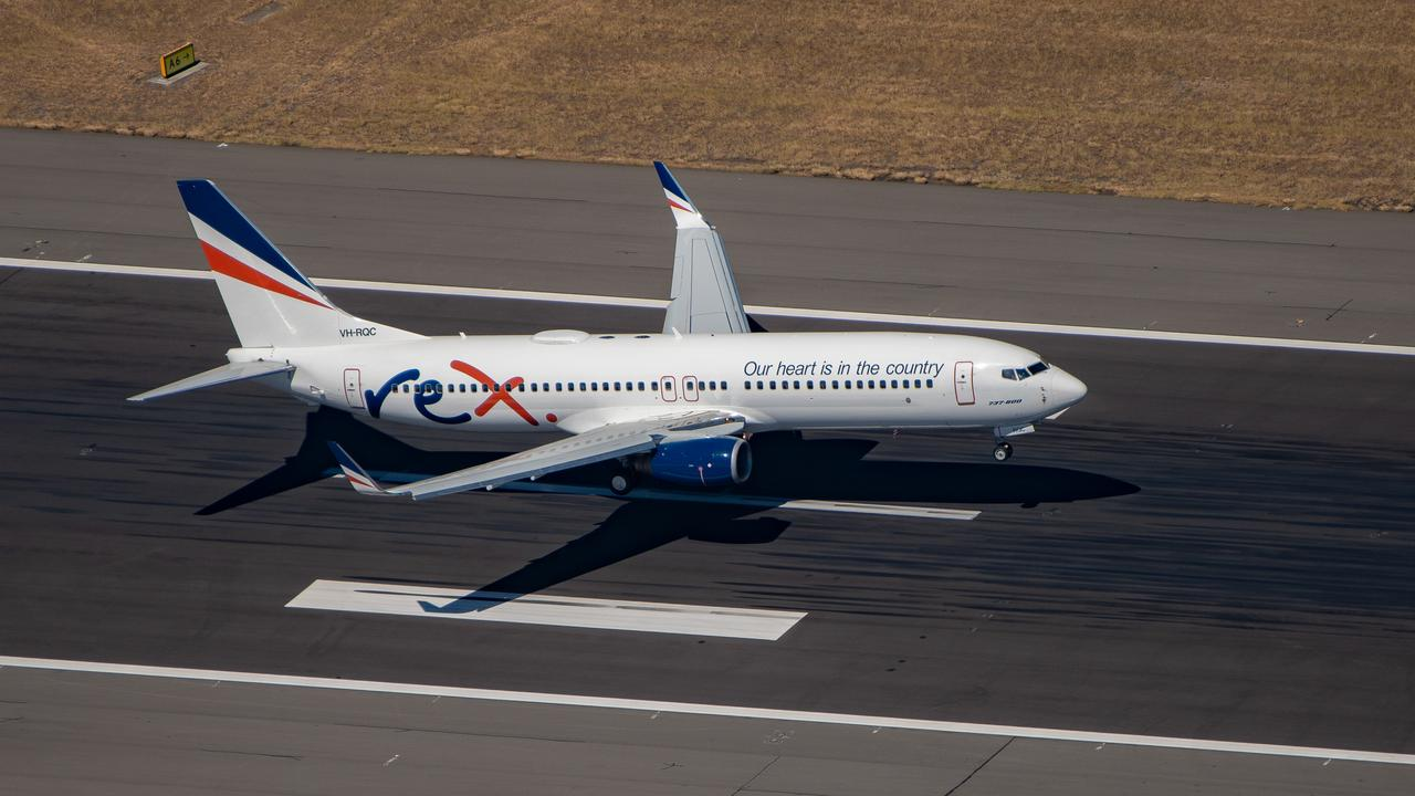 A Regional Express 737 that will fly between Sydney and Melbourne