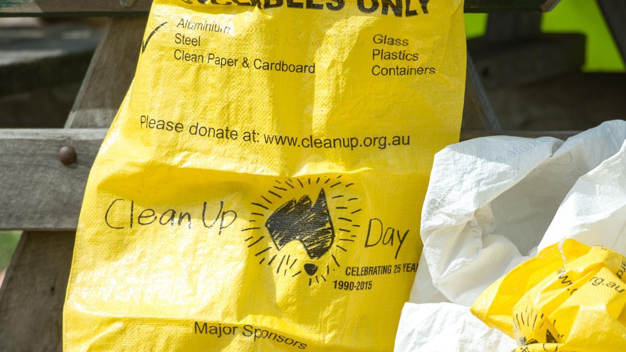 Clean Up Australia day..