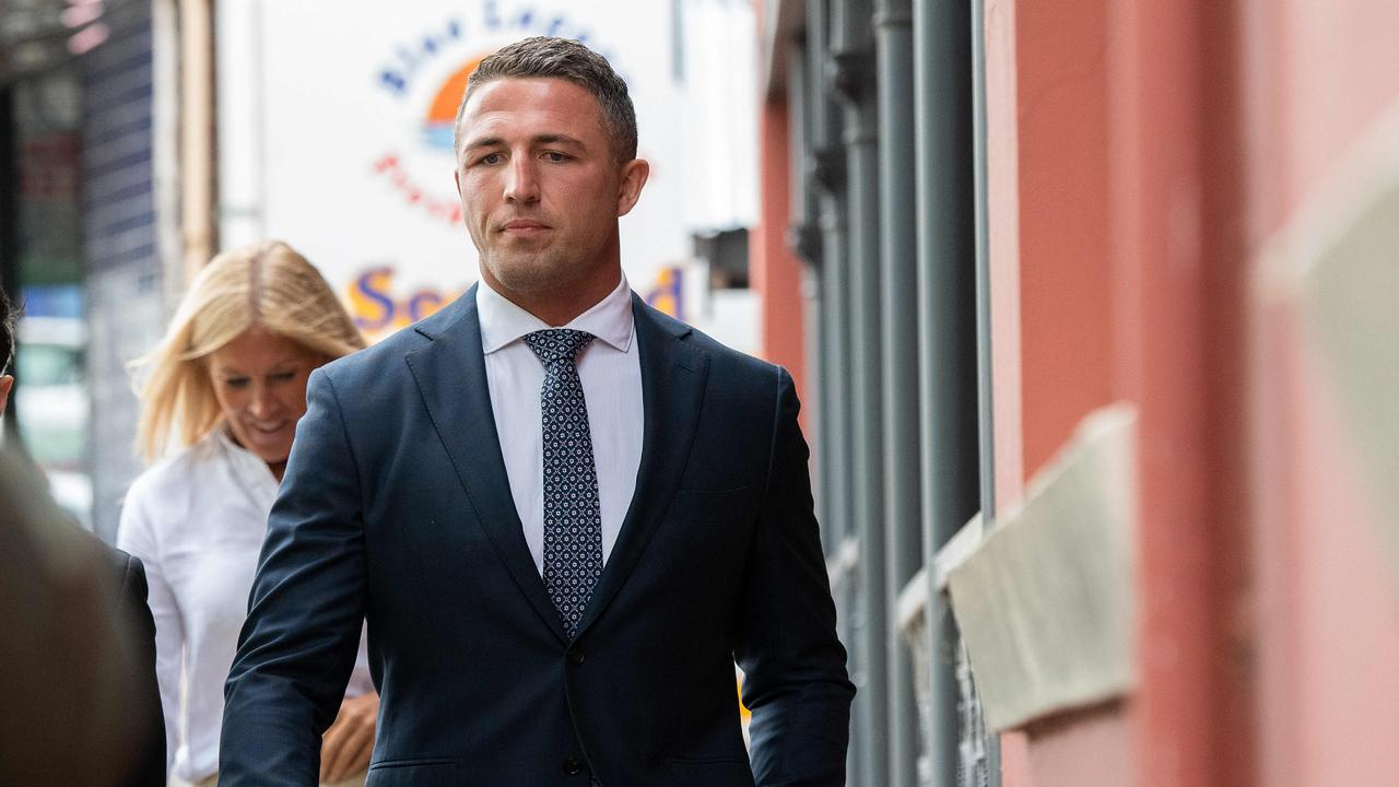 Sam Burgess. Picture: NCA NewsWire/Bianca De Marchi
