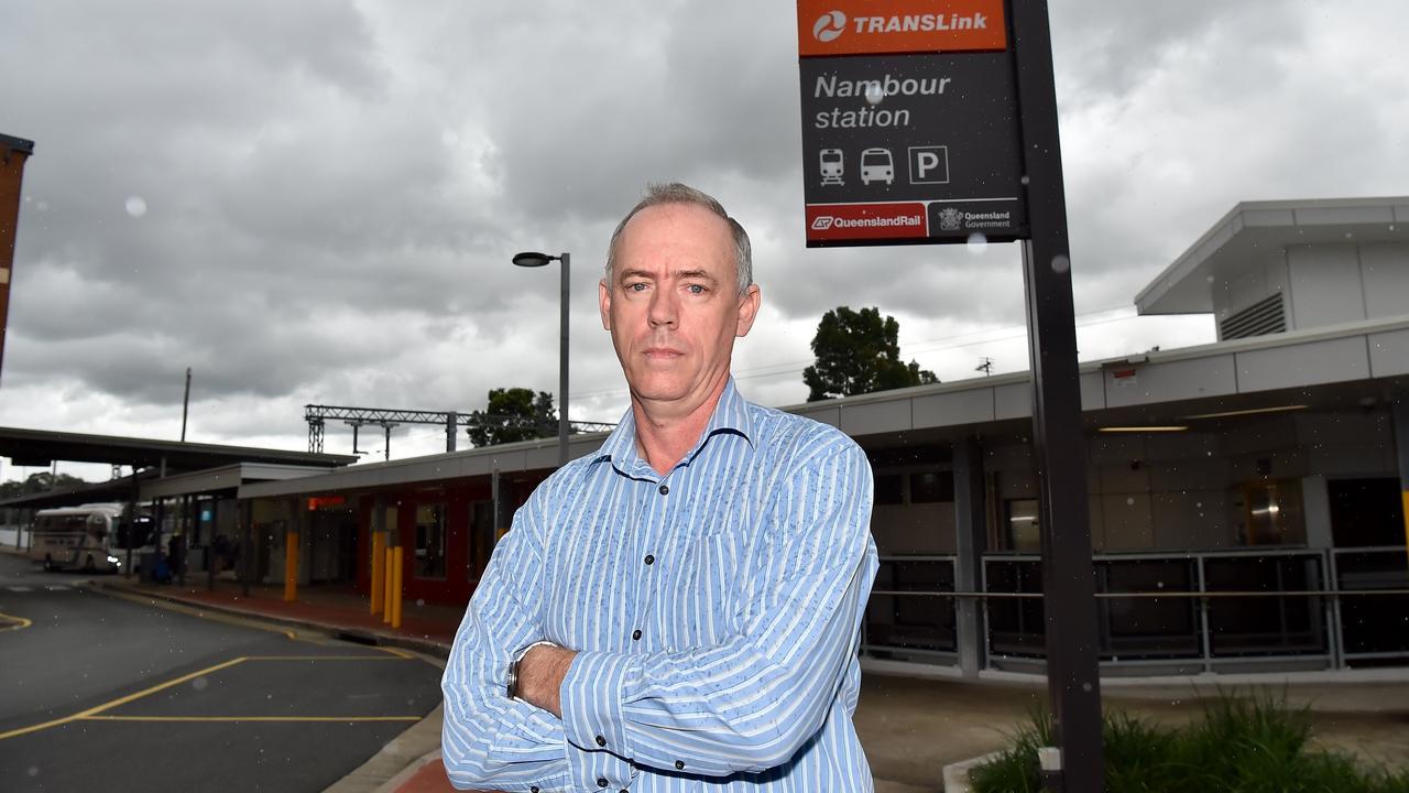 Jeff Addison from Sunshine Coast Rail Back on Track.