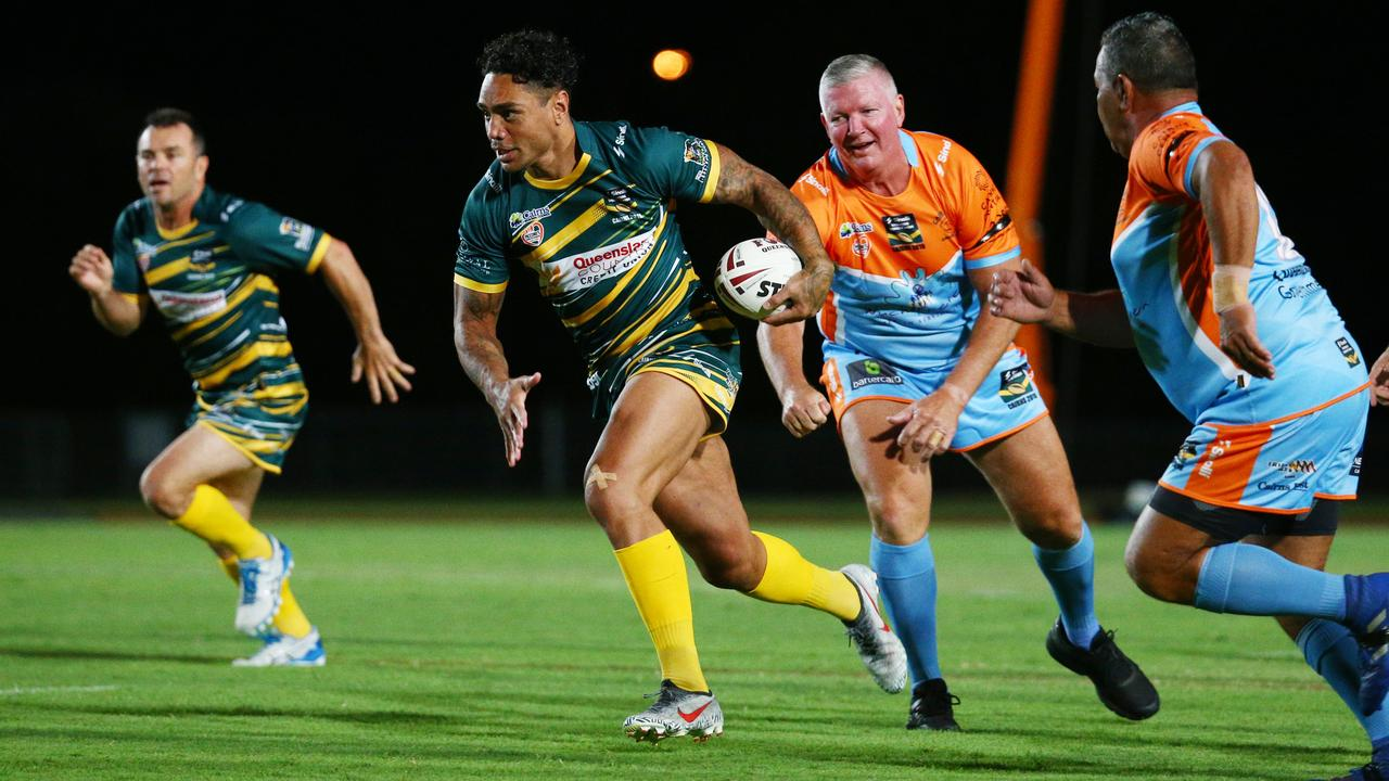 Willie Tonga is among the elite players involved in next month's All-Stars gala day at the North Ipswich Reserve