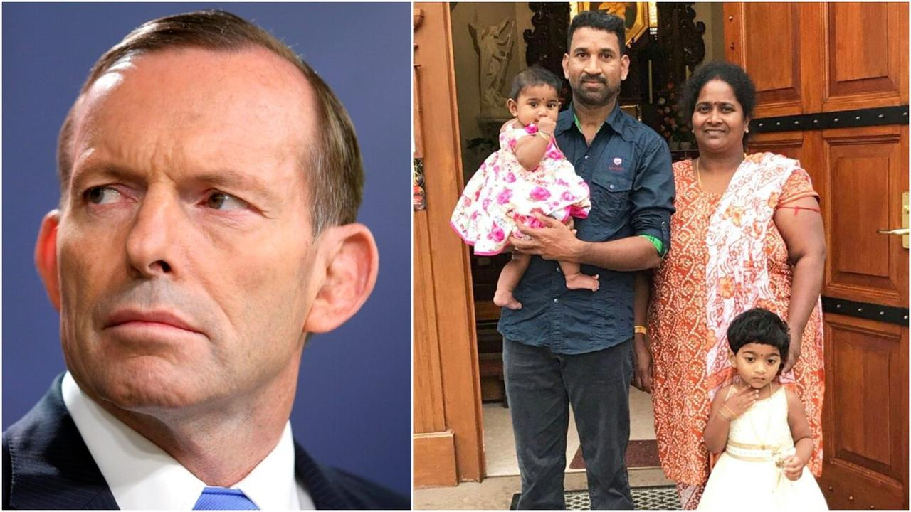 Former Prime Minister Tony Abbott and Deputy Prime Minister Michael McCormack wrote to the Immigration Minister concerning the Tamil family