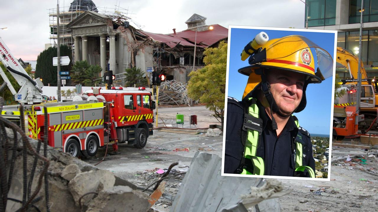 Mackay QFES station officer Neil Mellifont reflects on 10 years since he went to New Zealand to help with the aftermath of the magnitude 6.3 earthquake which struck Christchurch on Tuesday afternoon, February 22, 2011. Picture: Contributed.