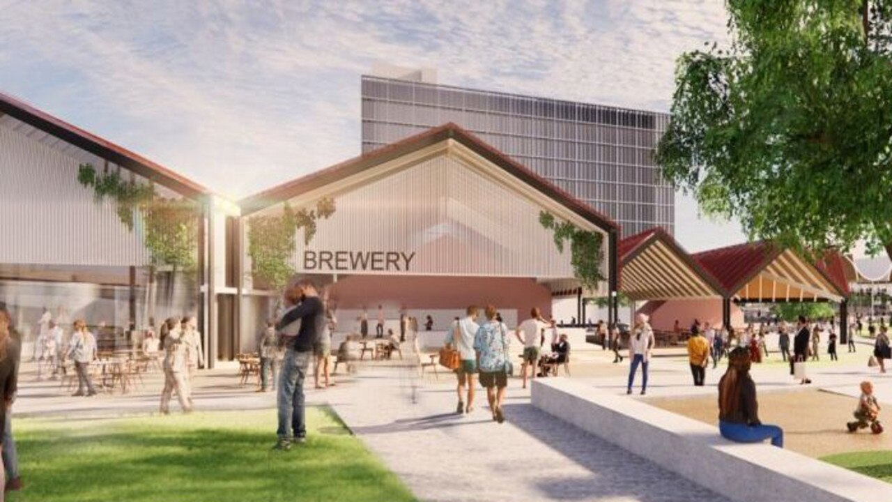 Masterplan developers Springfield City Group is looking to partner with an investor to transform almost 10 acres of land into a hospitality hub near the new Brisbane Lions AFL stadium.