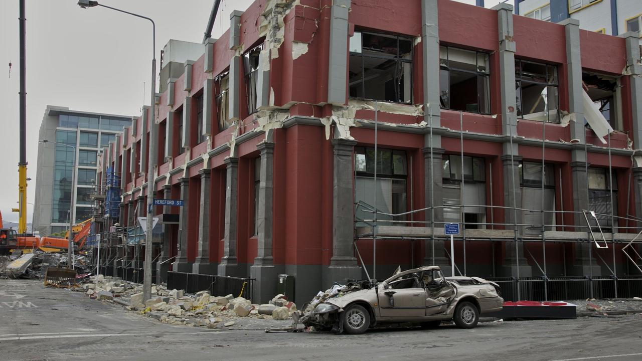 The aftermath from a magnitude 6.3 earthquake that struck Christchurch on the afternoon of February 22, 2011. Picture: Contributed