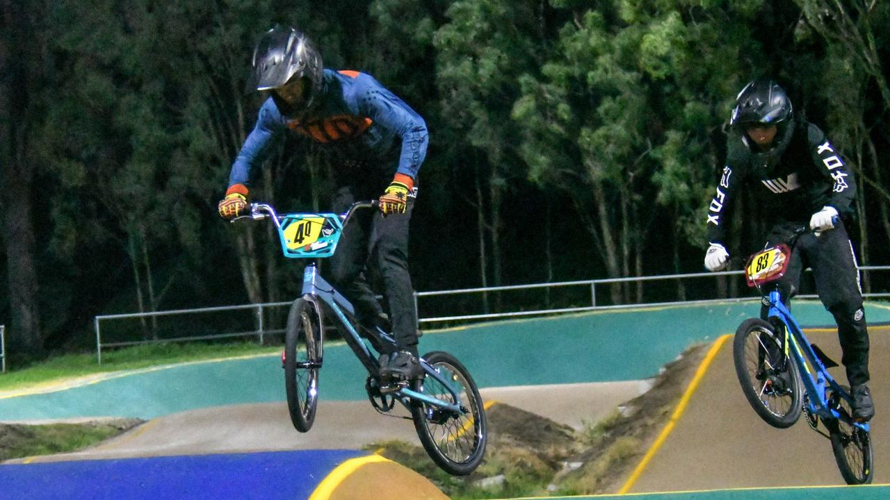Ipswich BMX Club nights are returning to normal with lots of riders back after last year's COVID concerns. Picture: Gary Reid