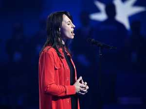 Anthem singer's scorching reply to criticism