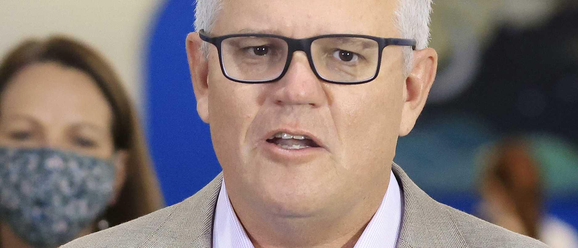 Australian Prime Minister Scott Morrison Receives Pfizer Covid-19 Vaccination