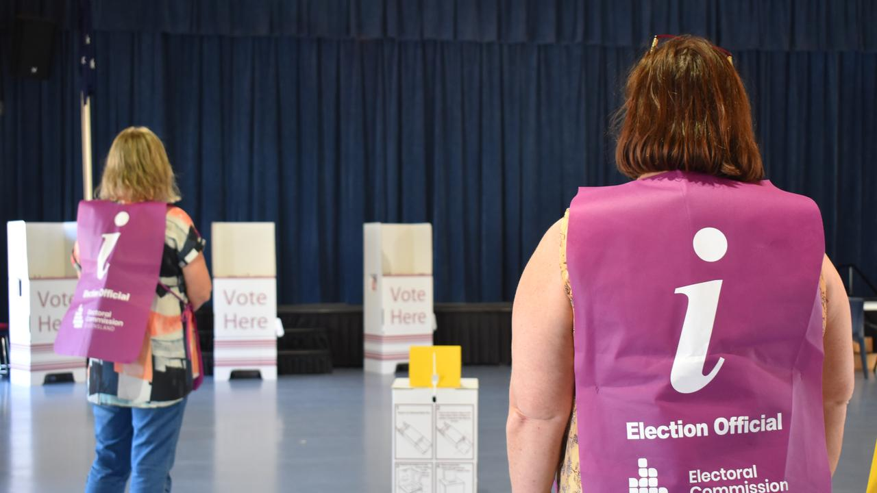 Election officials on Monday completed the ballot draw for Rockhampton's Division 3 by-election.