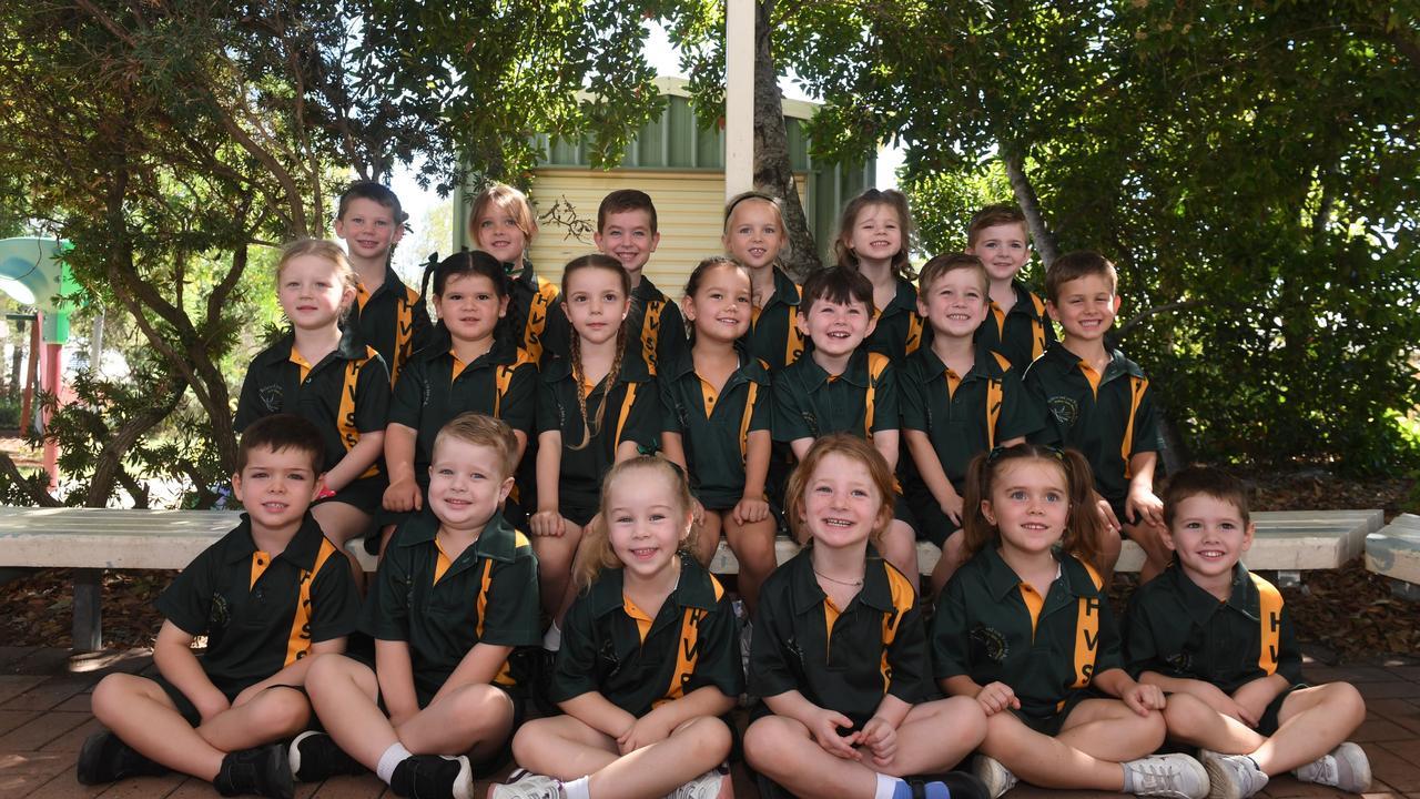 Hatton Vale State School prep students of 2021. PHOTO: Ali Kuchel