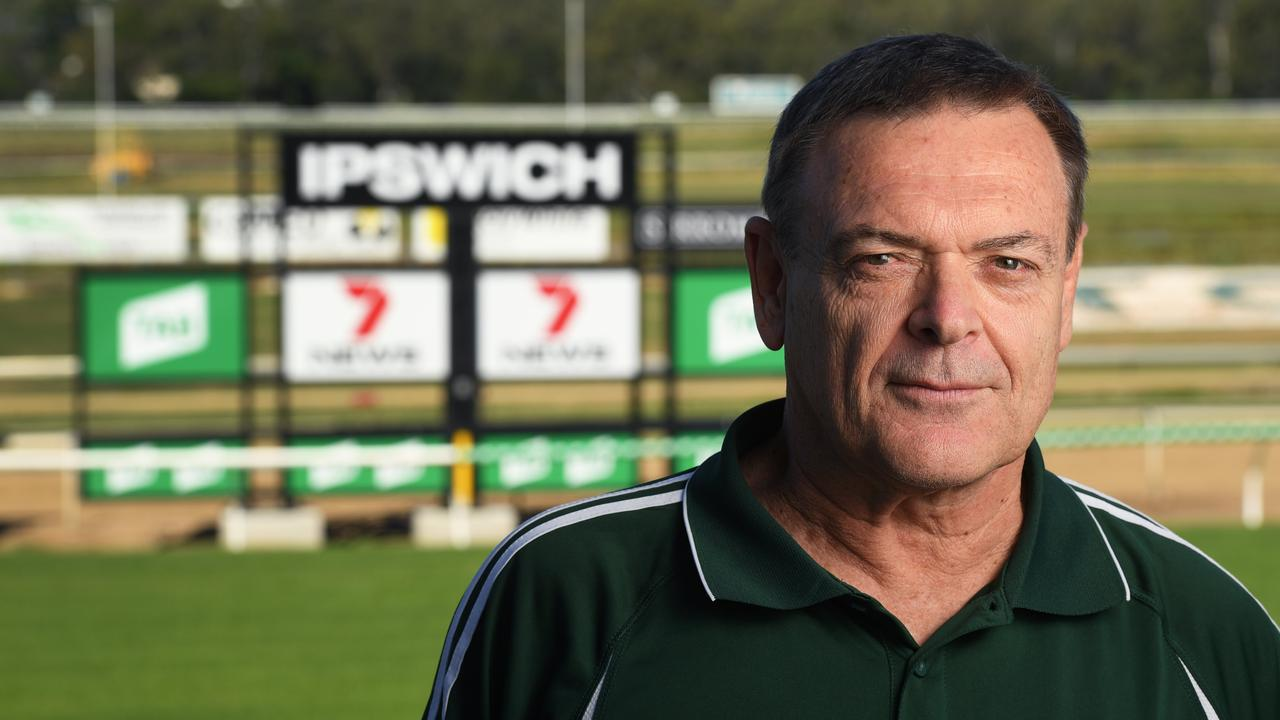Retiring Ipswich Turf Club general manager Brett Kitching hopes the city can re-establish its proud identity to achieve more successes. Picture: Rob Williams