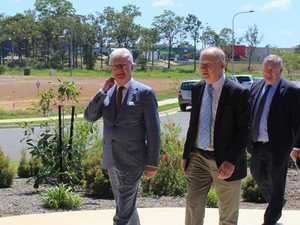 PHOTOS: Governor of Queensland tours Bundaberg aeromedical facility