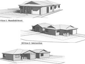 Units planned for house block at Wandal