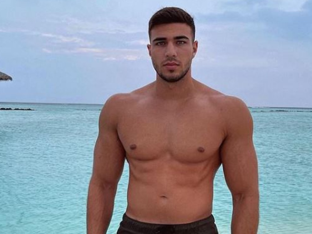 Love Island star Tommy Fury.