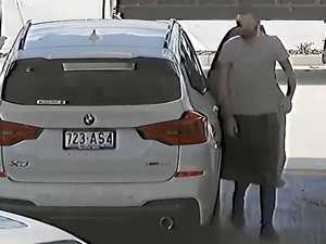 WATCH: Stolen vehicle allegedly used in fuel drive-offs