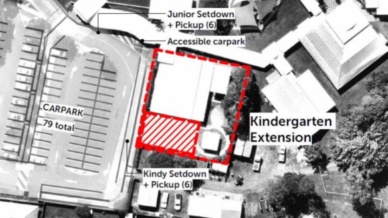 Whitsunday Anglican School's kindergarten on Celeber Dr, Beaconsfield.