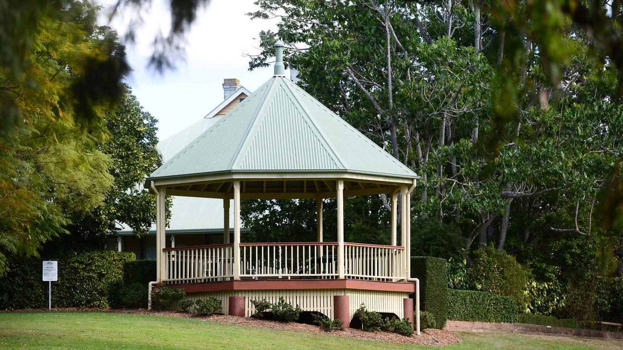 Bundaberg's botanic gardens is a popular spot for weddings.
