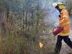 CQ highway to close as bushfire burns