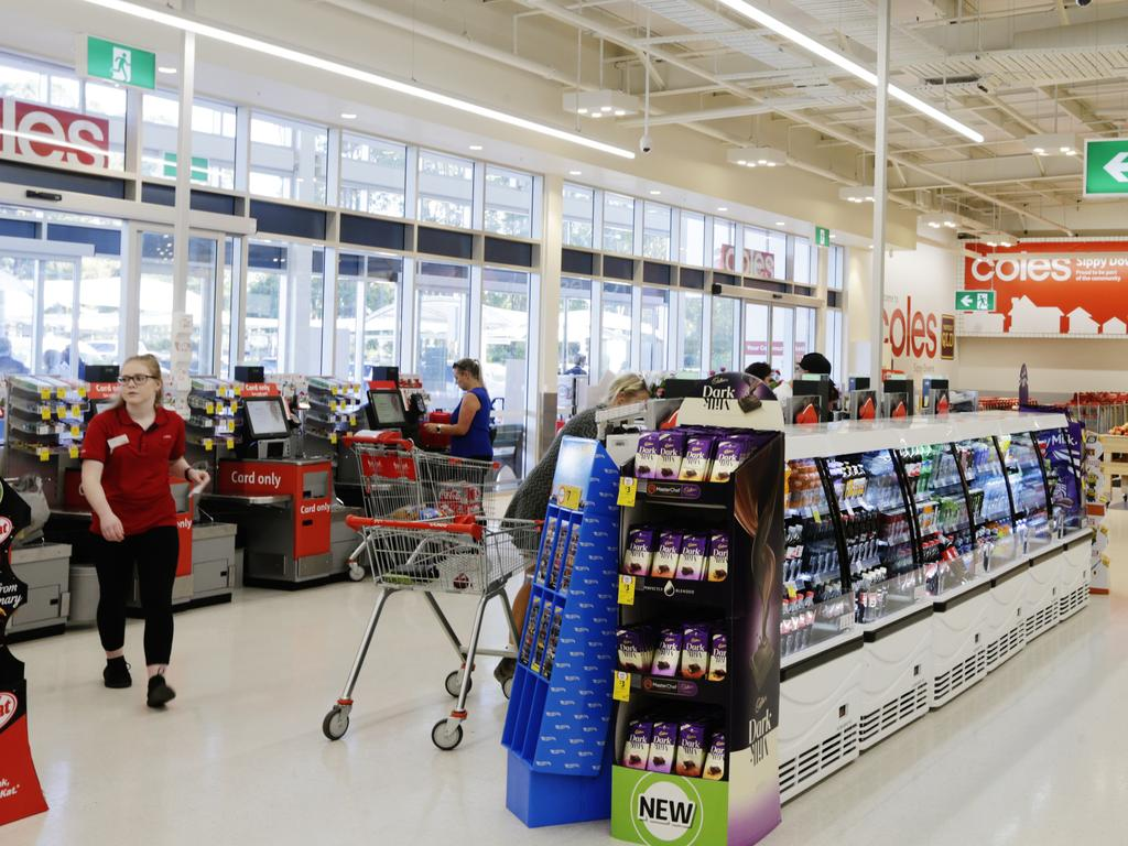 Coles says its move on plastic was in response to customers.