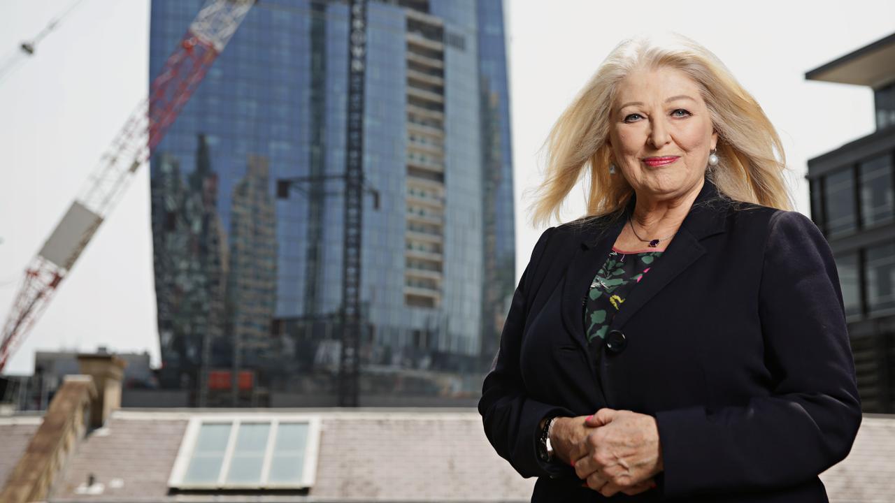 Crown Resorts executive chairman Helen Coonan. Photographer: Adam Yip