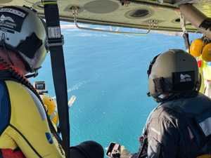 RACQ helicopter called in for help for boat in distress