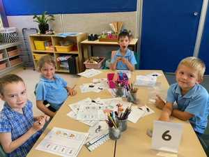 GALLERY: Yamba PS Year 1 students hard at work