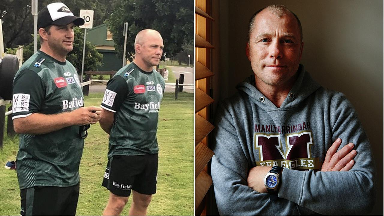 Former Manly NRL player and coach Geoff Toovey has joined the Warringah rugby union club.