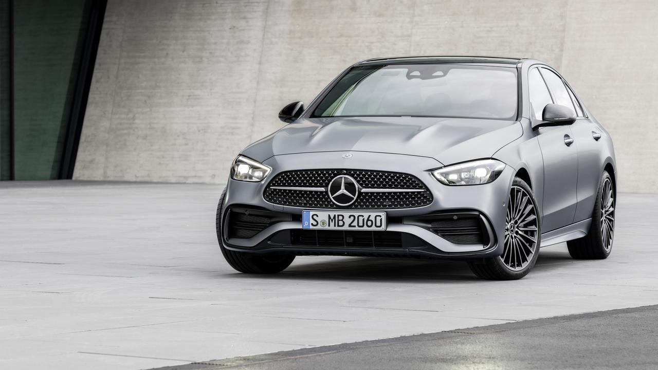 The Mercedes-Benz C-Class has a suave new look.