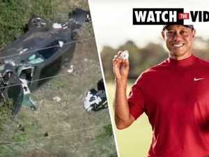 Tiger Woods injured in horrific car crash