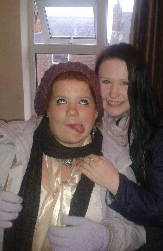 Sarah (right) and Shaunna (left) had been friends for 17 years. Picture: Mercury Press