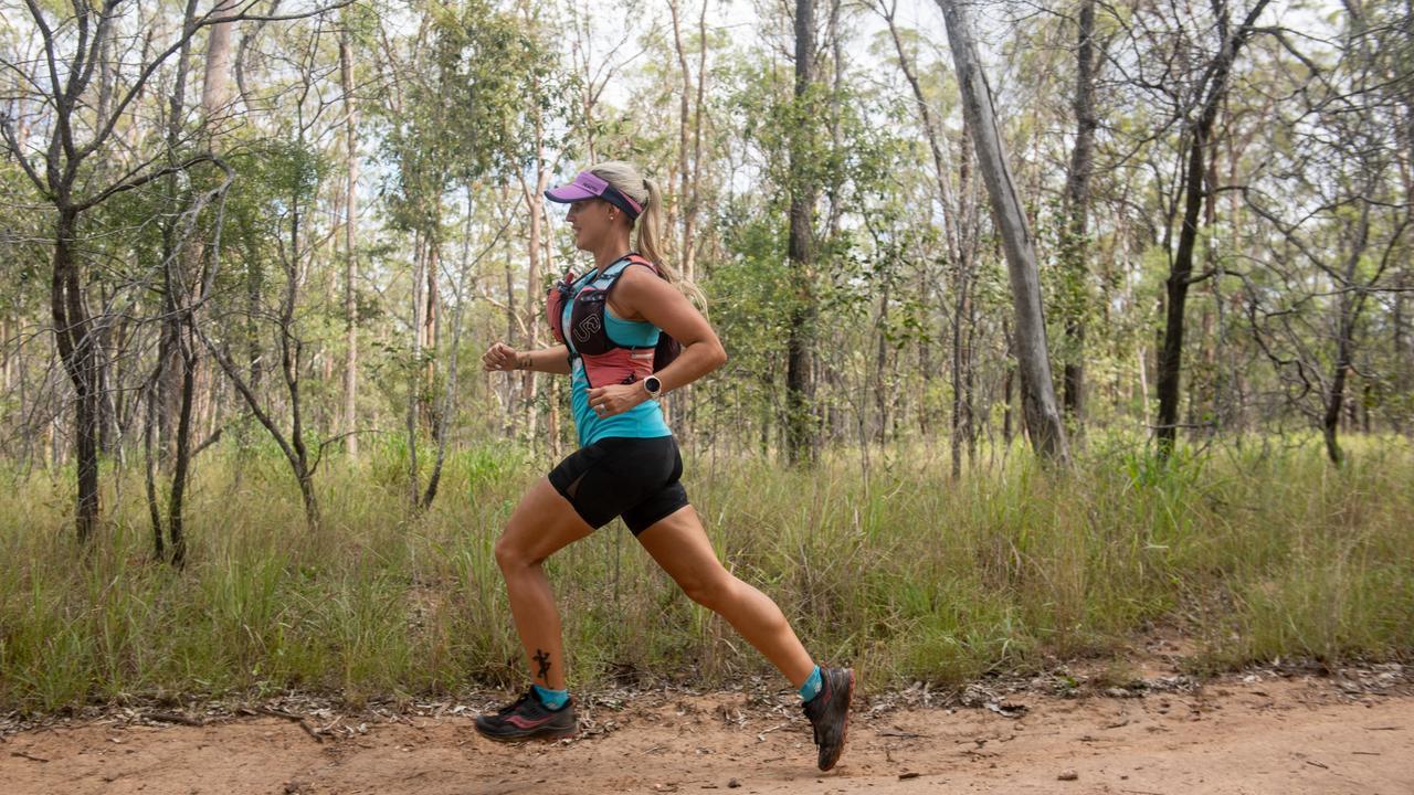 Ultra-marathon runner Kirsty Sutton, from the Lockyer Valley. PHOTO: Ali Kuchel