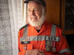 SES volunteer celebrates 20 years of floods, storms, rescues