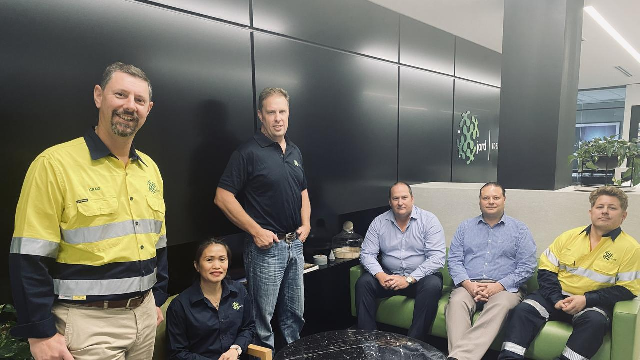 The team from Jord International at their Australian headquarters. Jord International has been awarded the first contract from BHP under their Supplier Innovation Program Challenge to develop a safer solution to filter press maintenance