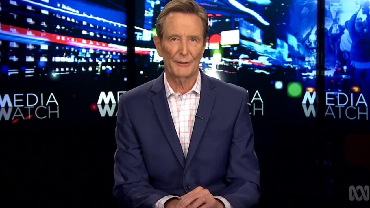 Media Watch host Paul Barry.