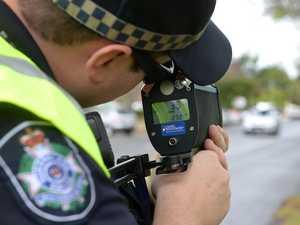 Police issue 13 speeding fines on Collinsville road