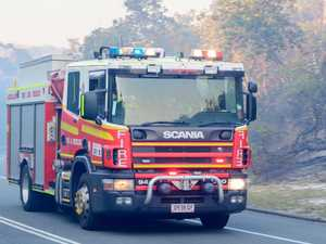 Fire in Gympie paddock needed 7 crews to contain
