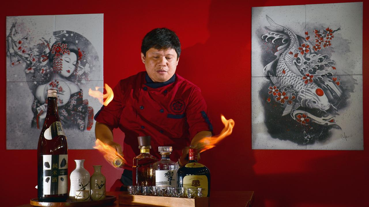 Former Akane Teppanyaki and Whisky Bar head chef Ren Salvi fires up.