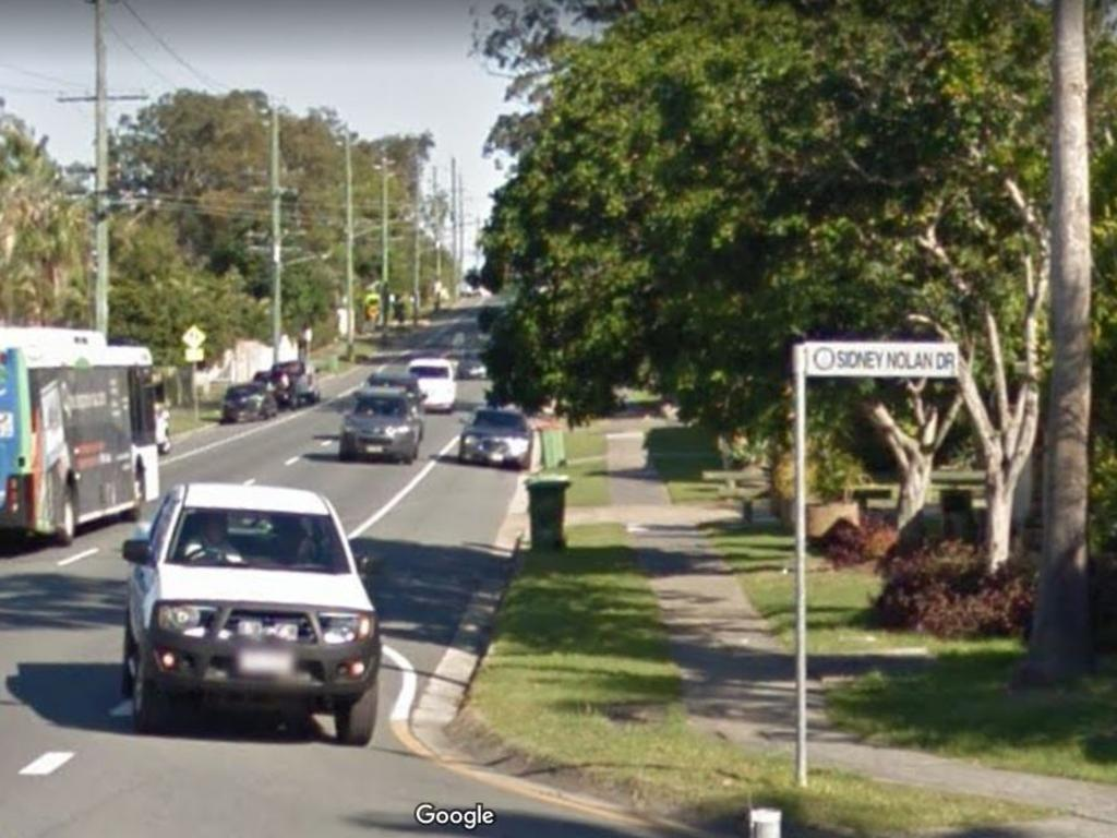 Sydney Nolan Drive, Coombabah, where the incident occurred. Picture: Google Maps