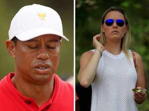 Tiger's ex reacts to shocking car crash
